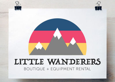 Little Wanderers Boutique Logo
